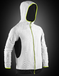 VX360 HOODIE REVERSE – FRONT-WHITE hoodie with lights
